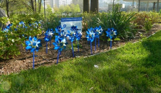 Order pinwheels for April